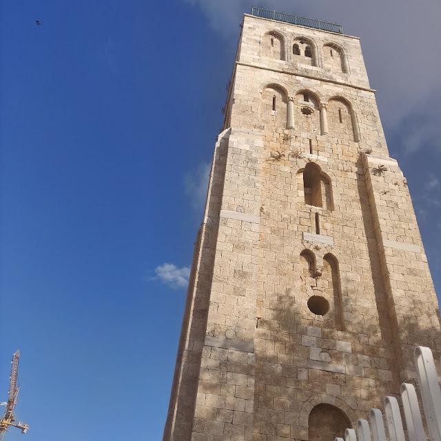 הצריח במגדל הלבן רמלה