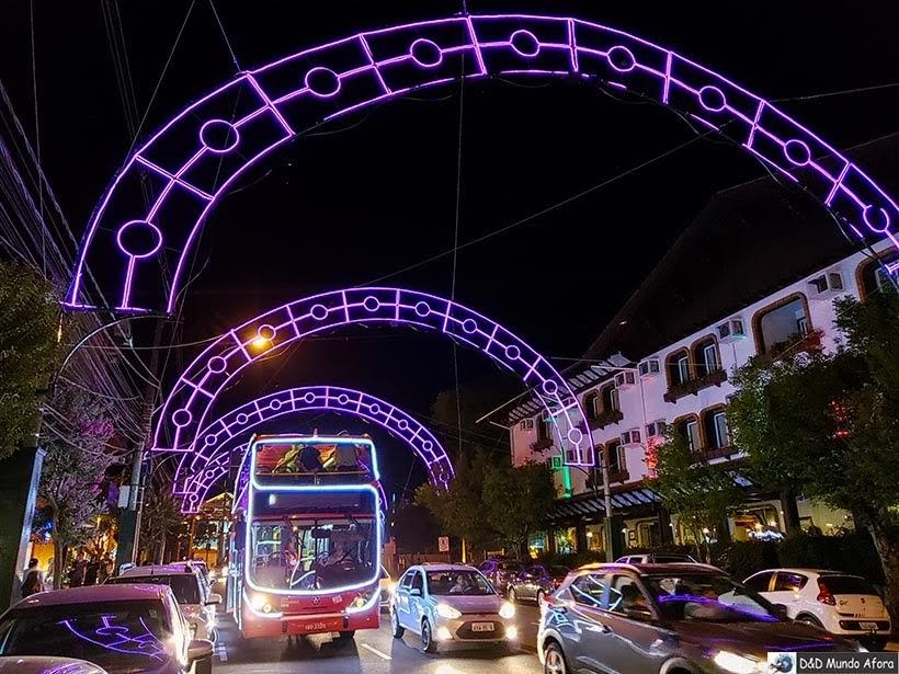 BusTour Illumination em Gramado durante o Natal Luz
