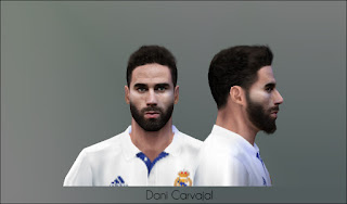 PES 6 Faces Dani Carvajal by Don_rxf
