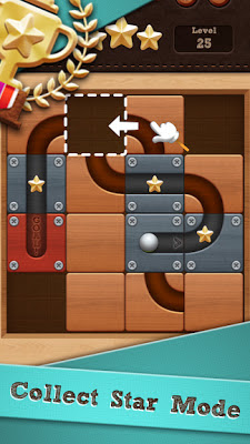 تحميل لعبة الالغاز البسيطة Roll the Ball - slide puzzle النسخة المهكرة