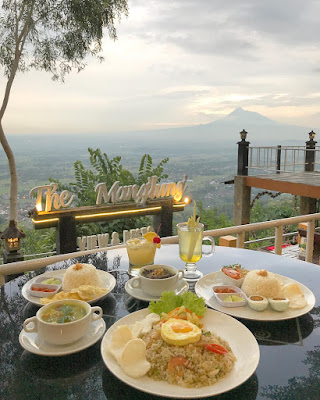 The Manglung View & Resto : Menu Makanan