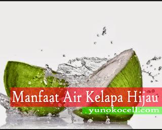 Manfaat Air Kelapa Hijau Bagi Kesehatan Manusia