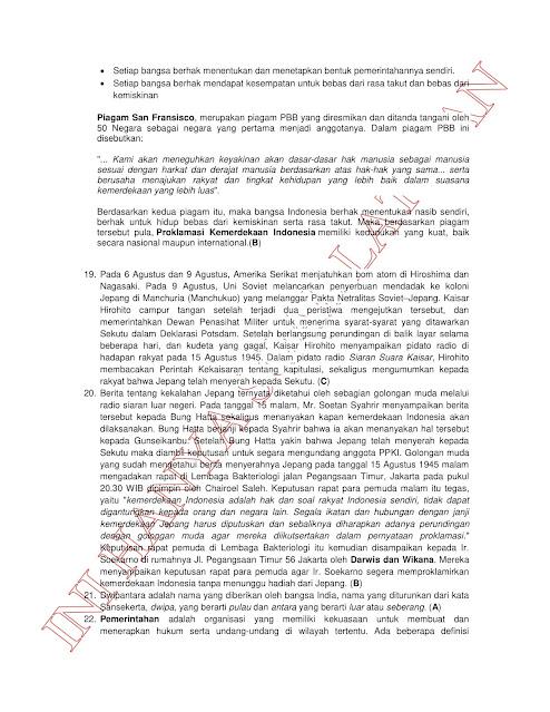 300+ Latihan Soal Tes CPNS SKD (TWK TIU TKP) 2021 + Kunci Jawaban