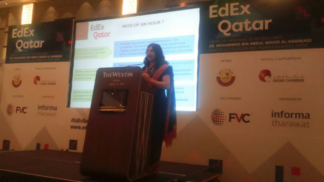 Shruti Arora from CEE represented India at the EDEX conference in Qatar
