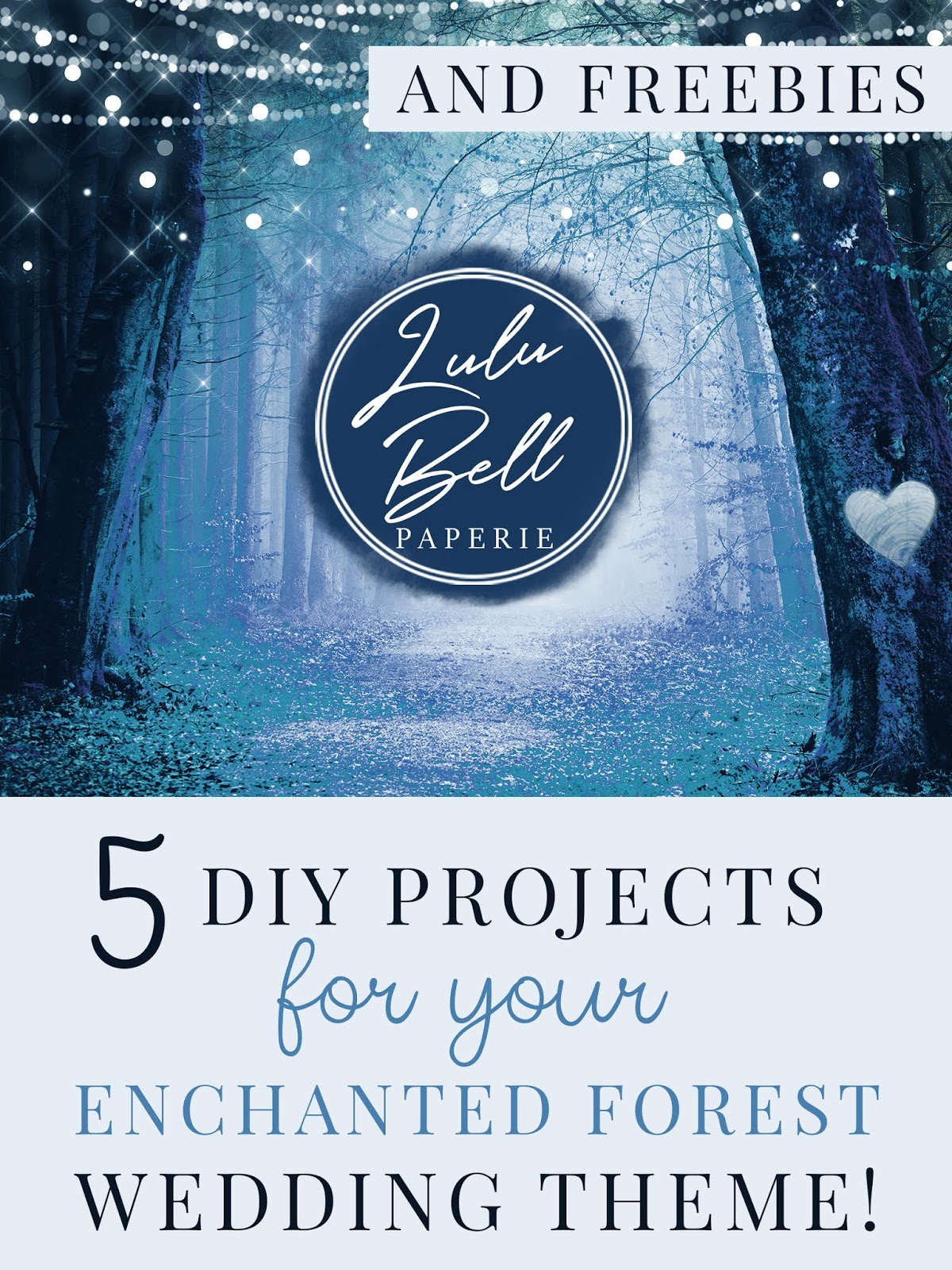 5 Easy DIY Projects for Your Enchanted Forest Wedding Theme