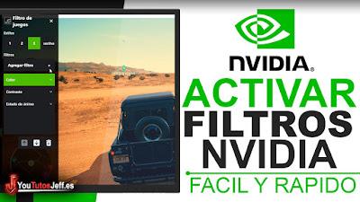 filtros de nvidia mientras juegas