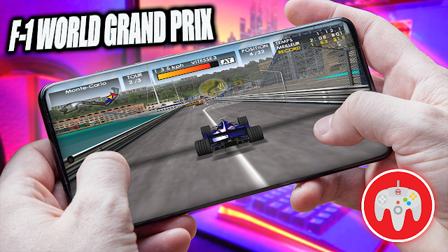 F1 World Grand Prix Para Teléfonos Android (ROM N64)
