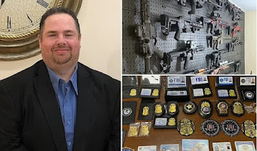 Upstate New York deputy mayor, 47, is busted over cache of 16 unregistered assault weapons and fake badges