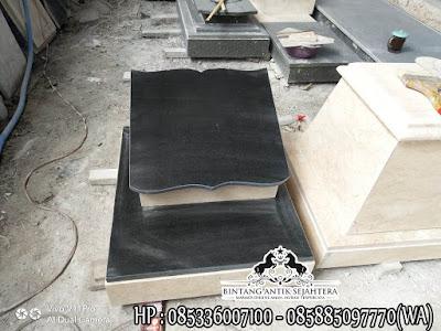 Nisan Kombinasi Marmer dan Granit, Model Nisan Buku, Nisan Batu Granit
