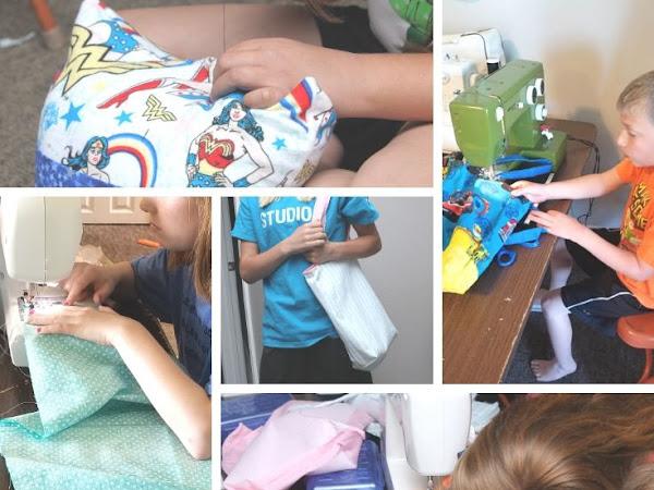 Teaching Children and Teens to Sew