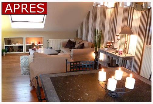 deco feeling avant apres. Black Bedroom Furniture Sets. Home Design Ideas