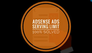 Temporary AdSense Ads Serving Limit Solve in Hindi