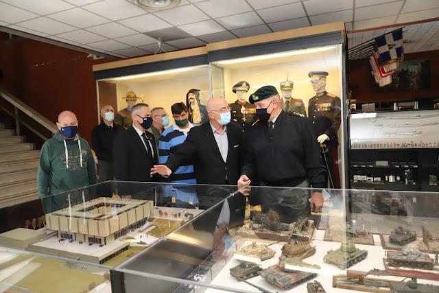 Επίσκεψη Α/ΓEΕΘΑ στο Πολεμικό Μουσείο-Ενημερώθηκε από τον Πρόεδρό του κ. Λιάσκο (ΦΩΤΟ)
