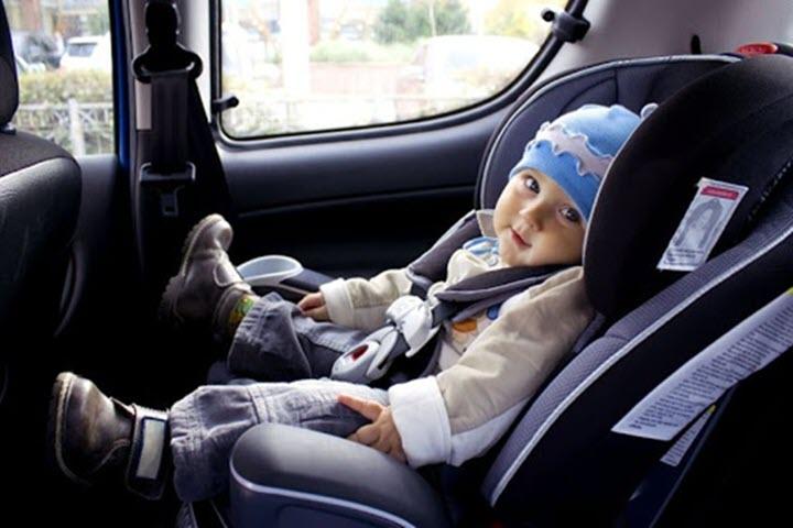 6 yếu tố cần đảm bảo trên xe hơi nếu gia đình bạn có trẻ nhỏ