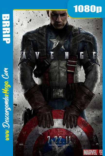 Capitán América El primer vengador (2011) HD 1080p Latino