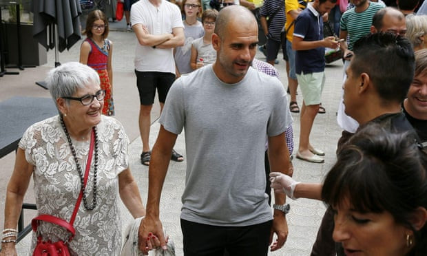 Manchester City coach Pep Guardiola's mother dies at 82 after contracting Coronavirus