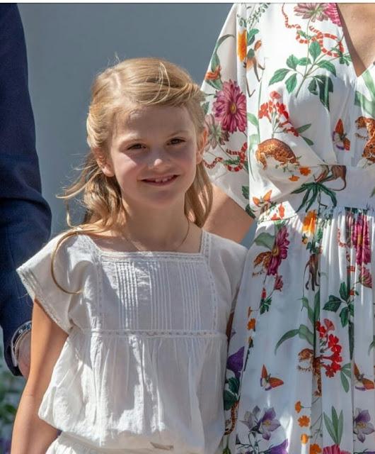 Znalezione obrazy dla zapytania princess estelle  of sweden 2019