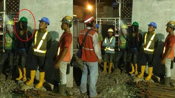 Foto Penampakan Saat Para Pekerja Briefing Ini Jadi Viral