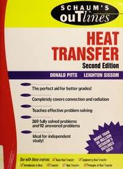 Download Schaum's Theory & Problem of Heat Transfer Pdf