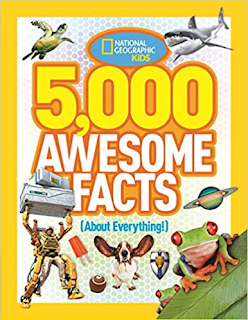 5,000 awesome facts, kids facts, national geographic facts, amazing fact book for kids