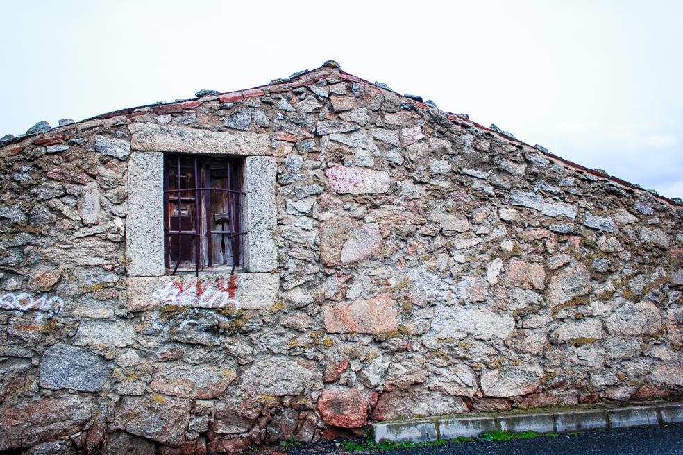 Fachada Rústica, El Barraco, Avila 2014