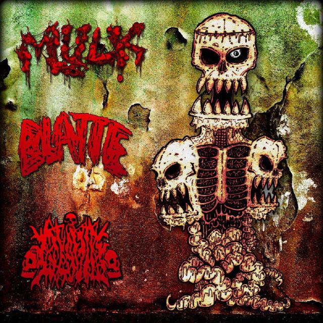 split mulk blatte glavio grindcore