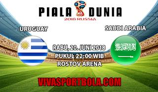 Prediksi Bola Uruguay vs Saudi Arabia 20 Juni 2018
