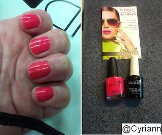 CND Vinylux: Inalterable más de una semana - Blog de Belleza Cosmetica que Si Funciona