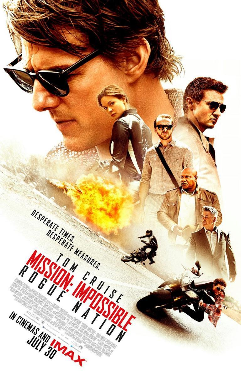 Download Mission Impossible Rogue Nation 5 (2015) Full Movie in Hindi Dual Audio BluRay 720p [1GB]