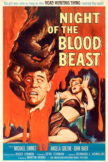 Poster - Night of the Blood Beast, 1958