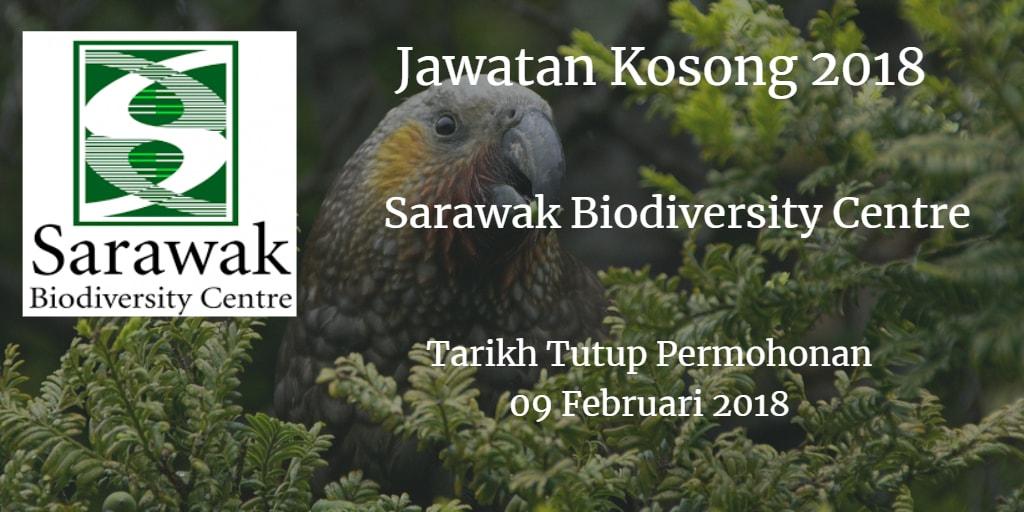 Jawatan Kosong Sarawak Biodiversity Centre 09 Februari 2018