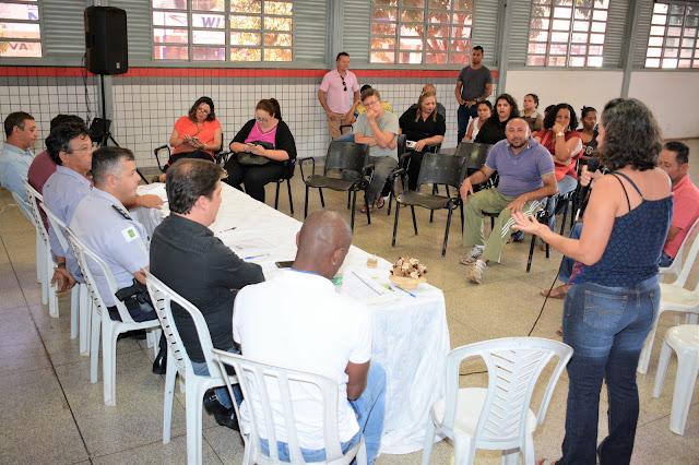 Reunião debate políticas públicas de segurança no Paranoá Parque