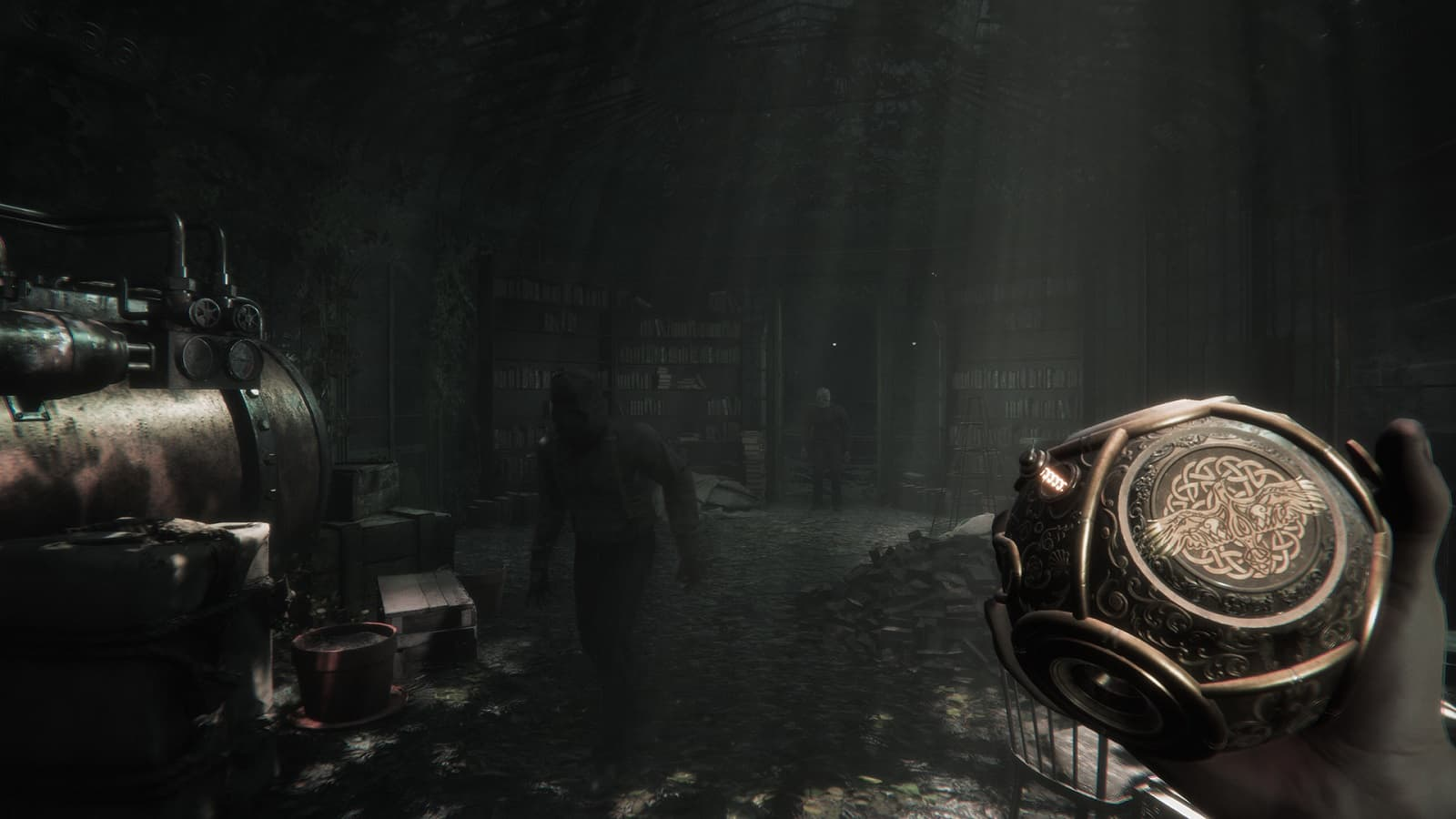 Рецензия на игру Maid of Sker - готический клон ремейка Resident Evil 2 с примесью Amnesia - 02