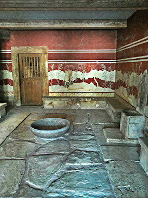 rovine palazzo cnosso creta