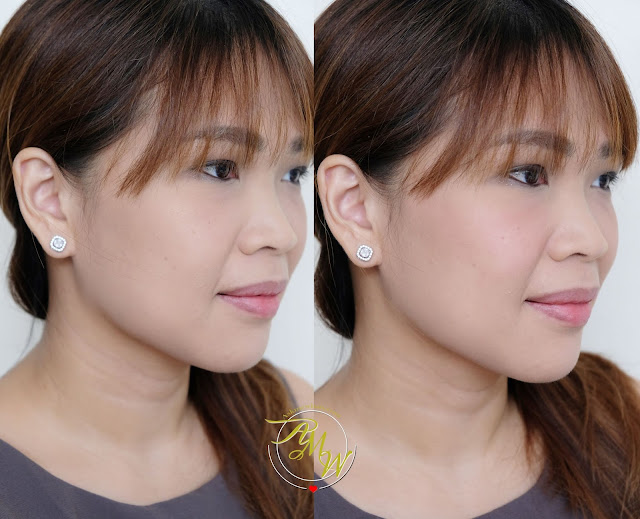 a photo of Make Up For Ever High Definition Second Skin Blush review in shade 330 by Nikki Tiu of www.askmewhats.com