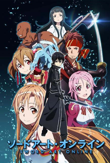 Sword Art Online animé à voir sur Netflix