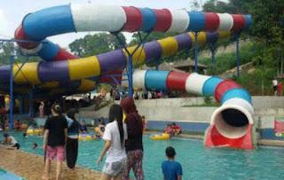 tempat wisata dan rekreasi di waterboom Nagrak sukabumi