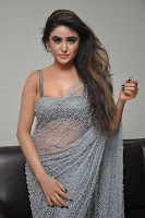 Actress Sony Charistha Latest Pos in Silver Saree at Black Money Movie Audio Launch  0043.jpg