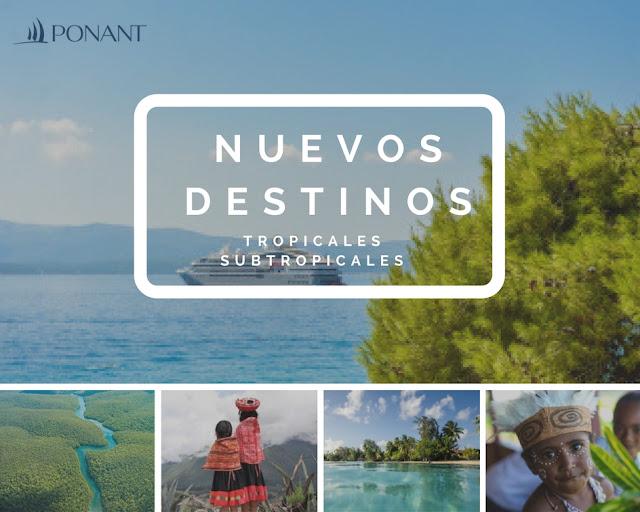 Nuevos destinos Ponant Explorers