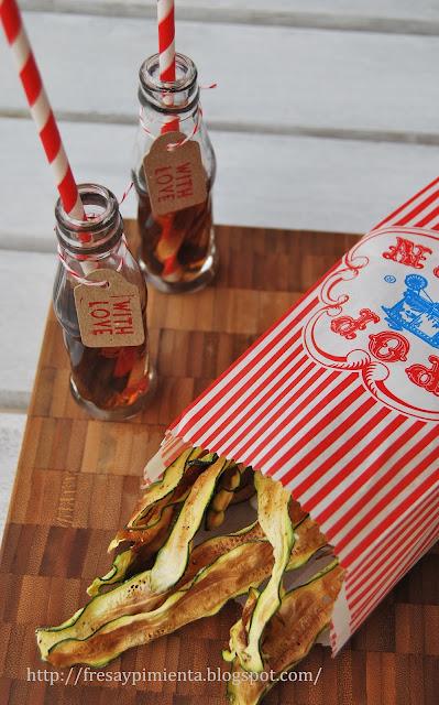 Chips de Calabacín aptos Dukan