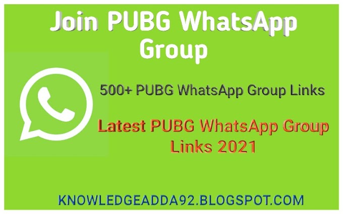 500+ PUBG WhatsApp Group Links 2021 | Join PUBG WhatsApp Groups