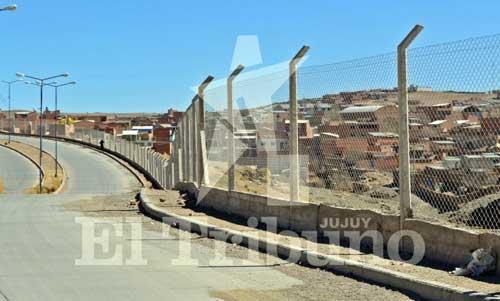 Culminaron el cerco perimetral que divide a las ciudades de La Quiaca y Villazón