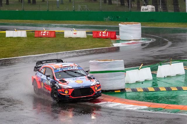 Hyundai i20 World Rally Car at Monza Rally 2020