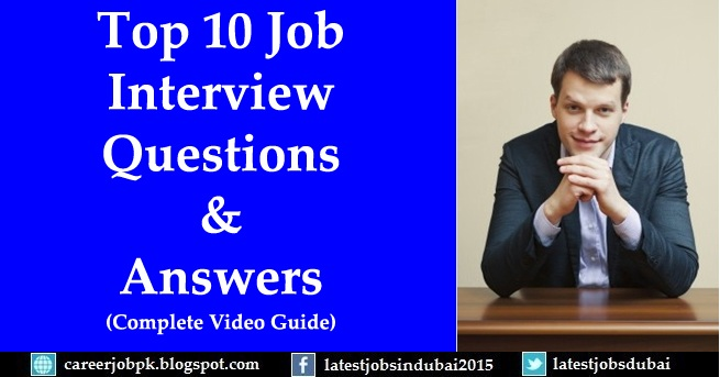 Most common job interview questions and
