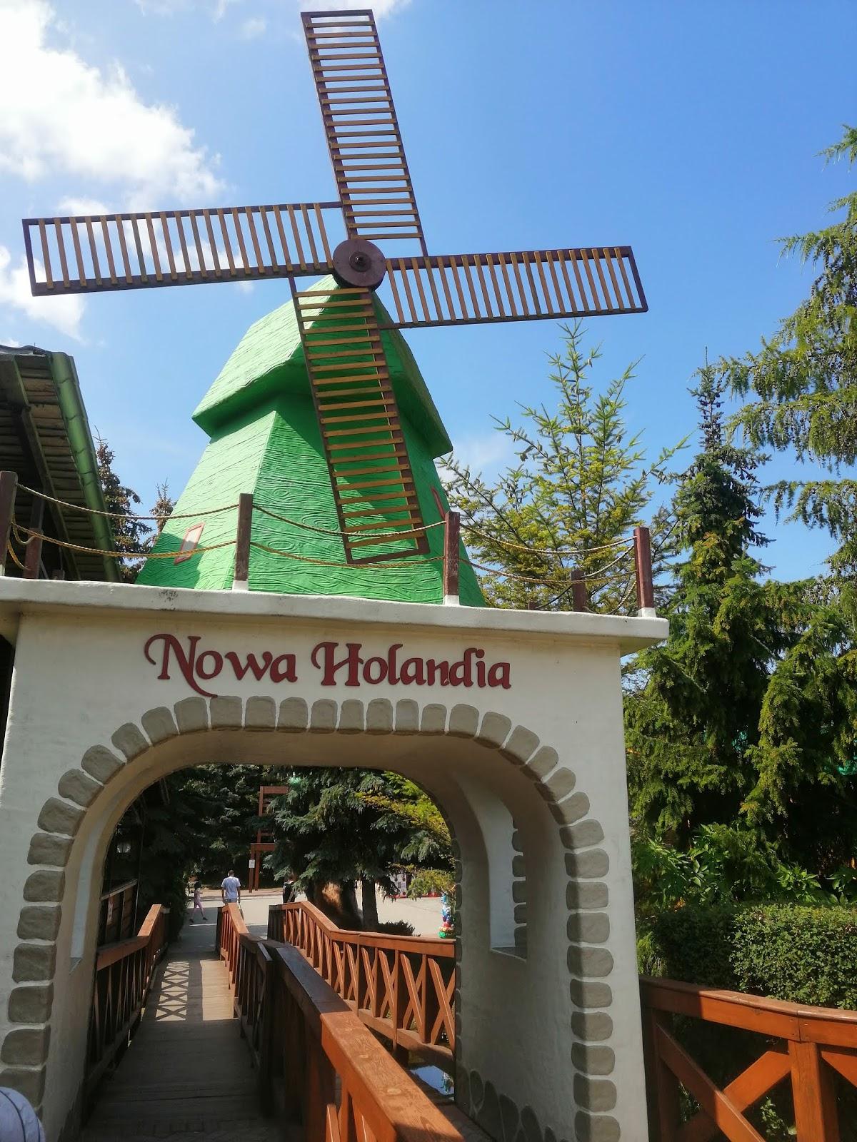 Rodzinny Park Rozrywki Nowa Holandia w Elblągu