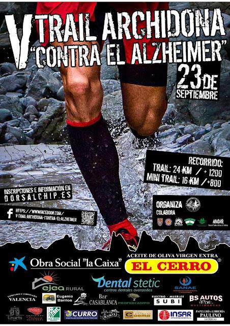 V Archidona Trail contra el Alzheimer