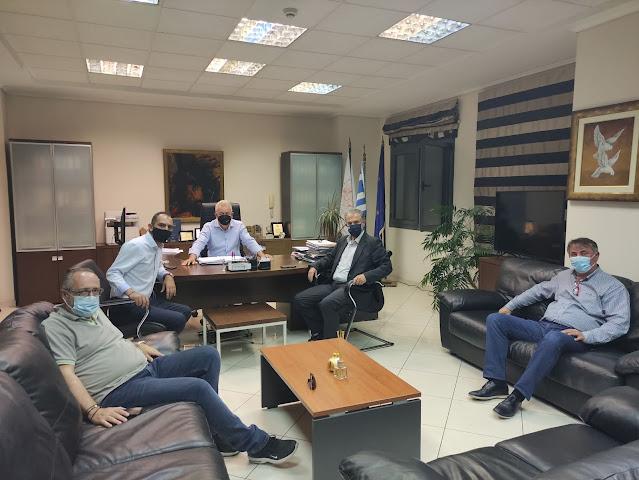 Συνάντηση του Δημάρχου Ηγουμενίτσας με τον Βουλευτή Άρτας του ΚΙΝΑΛ κ. Χρήστο Γκόκα