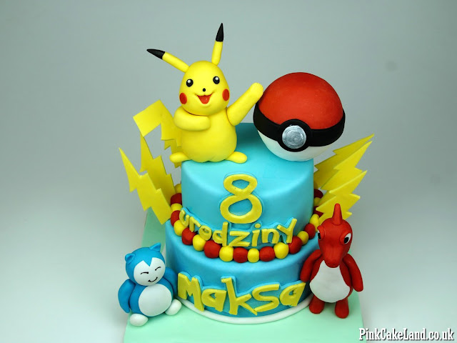 Birthday Cakes Pokemon London