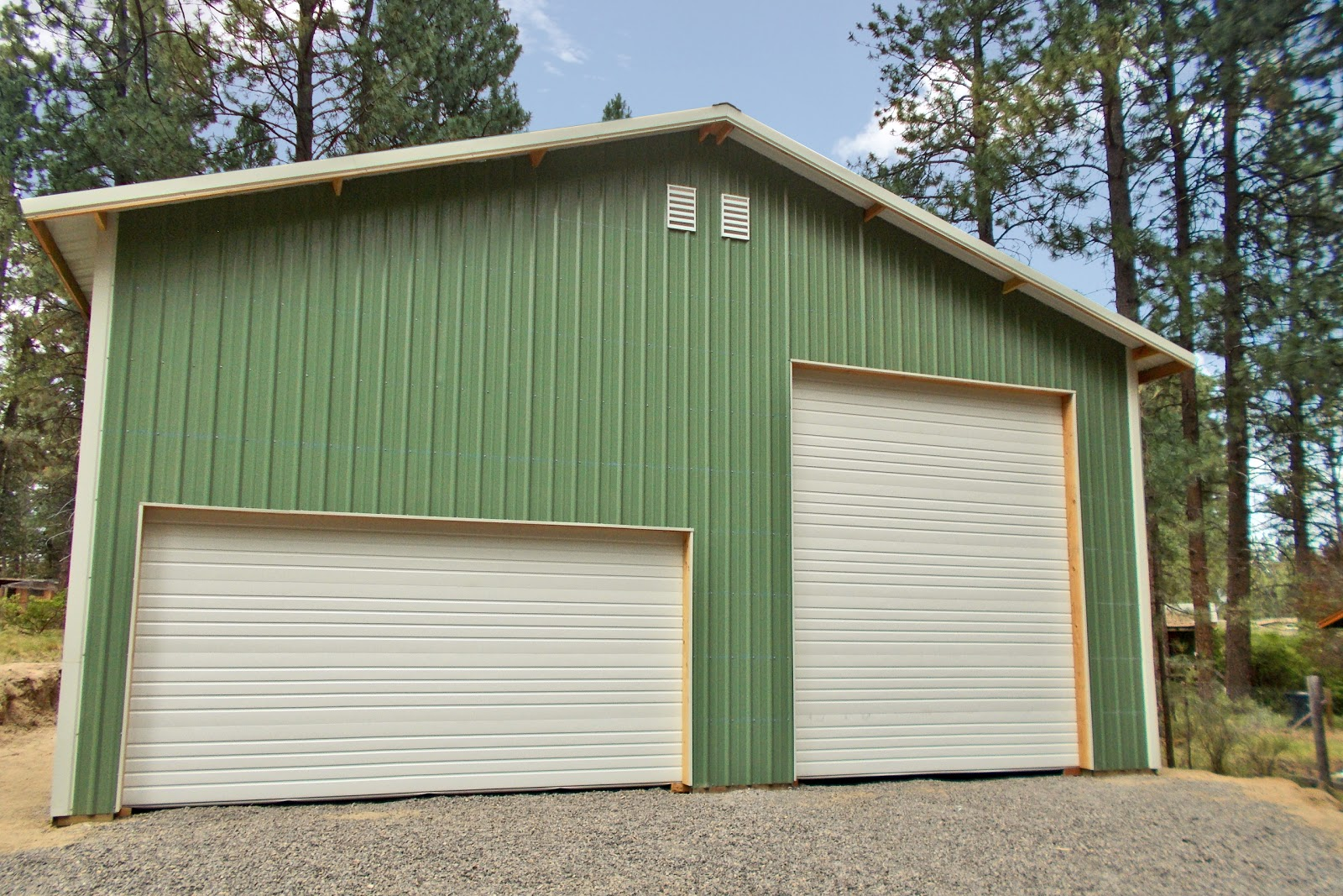 36 39 x 48 39 x 16 39 residential pole building in bend oregon for 30x60 pole barn