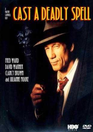 Carátula DVD de Cast a Deadly Spell 1991